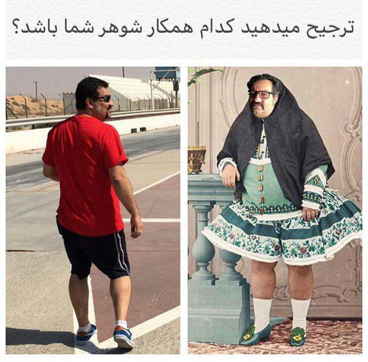 طعنه خنده دار مهراب قاسمخانی به تبلیغات عجیب حجاب (عکس)