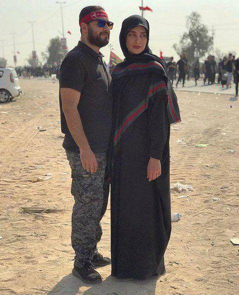جنجال تیپ لاکچری خانم مدلینگ عروس سفیر ایران