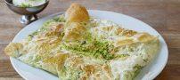 طرز تهیه دسر ترکیه ای کاتمر که با بستنی سرو میشود (عکس)
