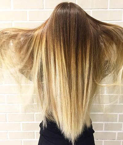 جدیدترین مدل های آمبره مو و رنگ مو مد امسال