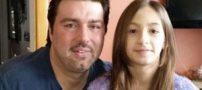 دوختن لب و چشم کیارا 12 ساله بخاطر آرایش کردن (عکس)