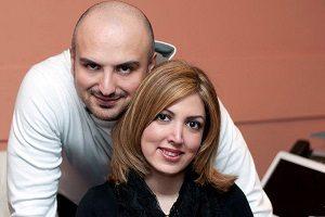علت طلاق سروش از سالومه مجری من و تو لو رفت (عکس)