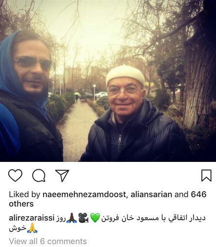 عکسهای جدید ورزشکاران و بازیگران مشهور ایرانی