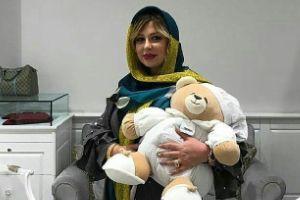 تیپ جدید نیوشا ضیغمی بعد از زایمان در جشن حافظ