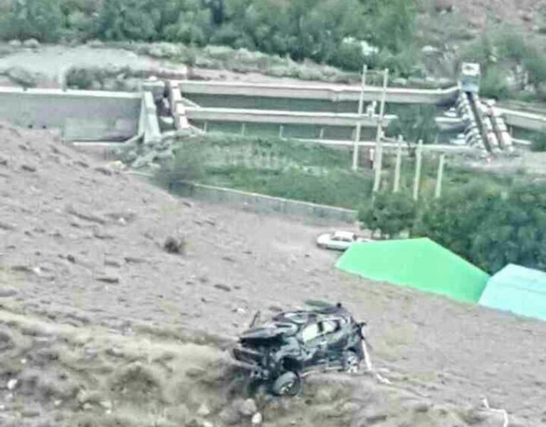 مرگ داماد آملی در حین فیلمبرداری (عکس)