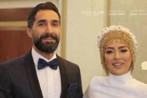 ازدواج سمانه پاکدل و هادی کاظمی ( عکس )