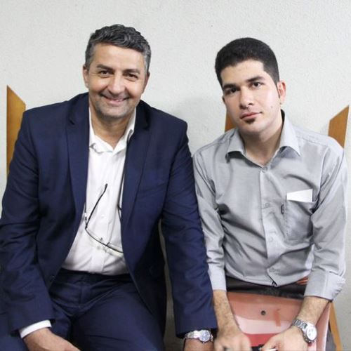 استادان تقلید صدای ایرانی و در آمد شومن های ایرانی + عکس