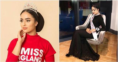 اولین فینالیست با حجاب در مسابقه دختران شایسته + عکس
