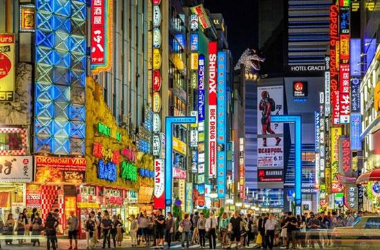 توکیو،ژاپن،زیباترین مکان ها،عکس،مکان های زیبا،چشم اندازها و مناظر زیبا