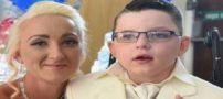 ازدواج شوکه کننده مادری با پسر 7 ساله بخاطر زیبایی + تصاویر
