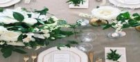 مدل تزئینات میز عروسی | دکوراسیون و چیدمان میز تالار