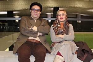 عکس جدید مهسا پس از درگذشت پدرش حسین عرفانی