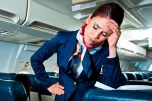 پایان تلخ خواستگاری از خانم مهماندار در هواپیما
