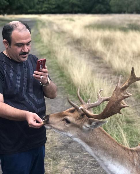 عکس های دیدنی سفر مهران غفوریان به انگلستان