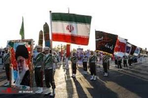 جزئیات و تصاویر تیراندازی در رژه نیروهای مسلح اهواز