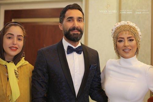 عکس های عاشقانه تازه عروس سینمای ایران | سمانه پاکدل