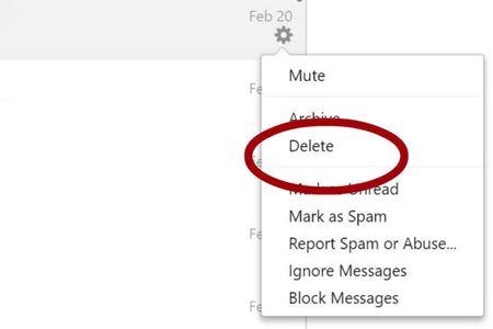 آموزش حذف پیام های خود در فیسبوک