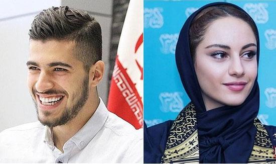 رابطه بازیگران زن ایرانی با فوتبالیست ها،عکس،بازیگران زن ایرانی،فوتبالیست،رابطه زن بازیگر با فوتبالیست