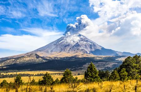 آتشفشان پوپوکاتپل مکزیک،مرگبارترین آتشفشان های جهان،خطرناکترین آتشفشان های جهان،مرگبارترین آتشفشان،خطرناکترین آتشفشان