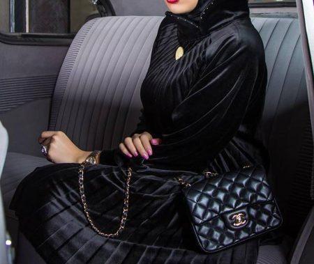 مدل مانتو مخملی شیک و زیبای 2019