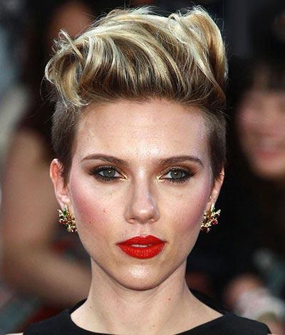 مدل آرایش و موی خوش استایل ترین ستاره ها