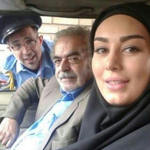 عجیب ترین سلفی های دیدنی بازیگران و ستاره های ایرانی
