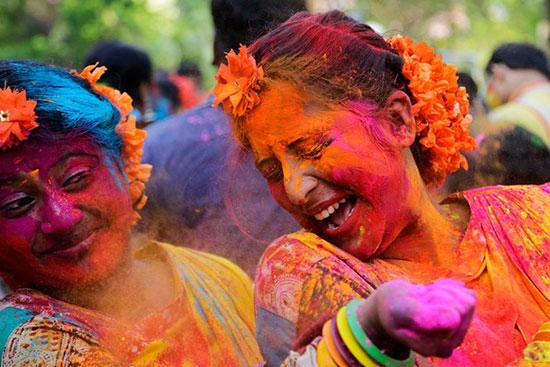جشنواره مقدس هندی ها،زیباترین مکان ها،عکس،مکان های زیبا،چشم اندازها و مناظر زیبا