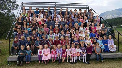 مرد کانادایی که 59 همسر و 149 فرزند دارد
