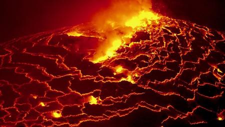 آتشفشان نیراگونگو جمهوری دموکرات کنگو،مرگبارترین آتشفشان های جهان،خطرناکترین آتشفشان های جهان،مرگبارترین آتشفشان،خطرناکترین آتشفشان