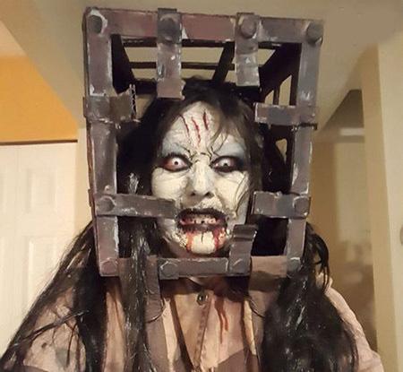 ترسناک ترین مدل گریم و لباس جشن هالووین (عکس 18+)