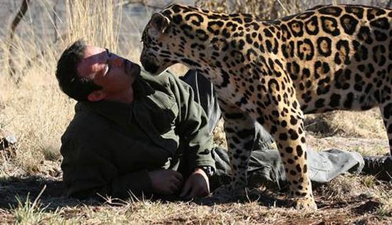 رابطه باورنکردنی این حیوانات خطرناک با انسان (عکس)