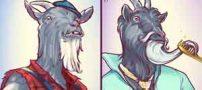 مقایسه جالب مردان قدیم و جدید (عکس)