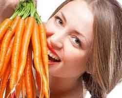 هویج بخورید تا زیبا و جوان بمانید