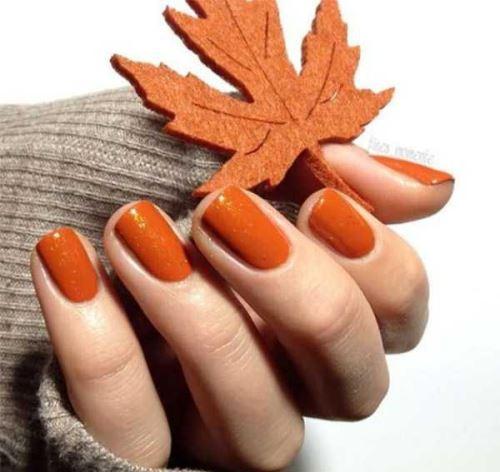 مدل های زیبای طرح ناخن مخصوص پاییز