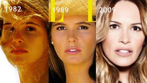 عکس هایی جذاب از زیباترین سوپر مدل های زن جهان