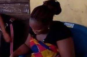 این خانم بعد از دوسال بارداری بز بدنیا آورد (عکس)