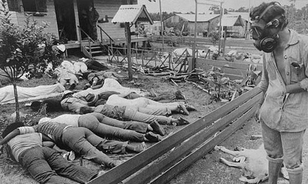 فجیع ترین خودکشی دسته جمعی تاریخ (عکس 18+)