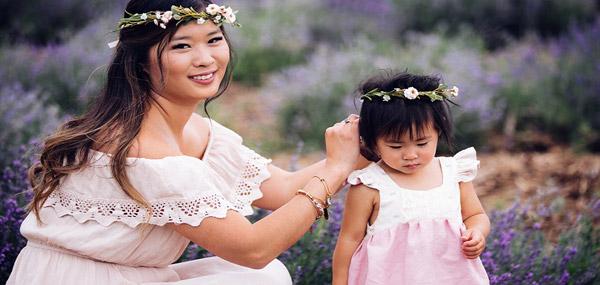 10 ایده ساده برای ست کردن مادر و دختری