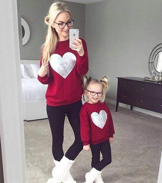 جدیدترین و زیباترین مدل های ست مادر و دختری