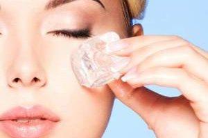 معجزه یخ برای جوانسازی پوست صورت