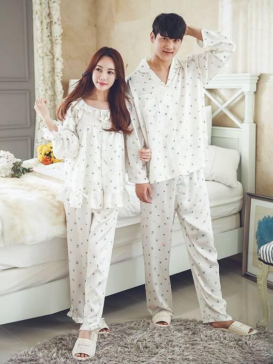 ست لباس خواب های بامزه مخصوص زن و شوهر