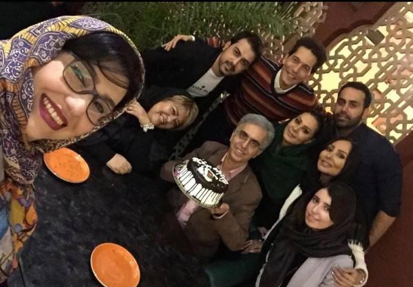 رابعه اسکویی در جشن تولد معصومه کریمی (عکس)