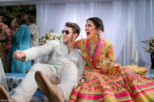 عکس های ازدواج پریانکا چوپرا عروس زیبای غربی شرقی