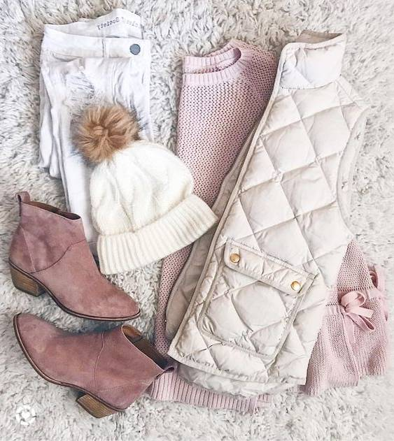 ست بسیار شیک زمستانه مخصوص خانم ها