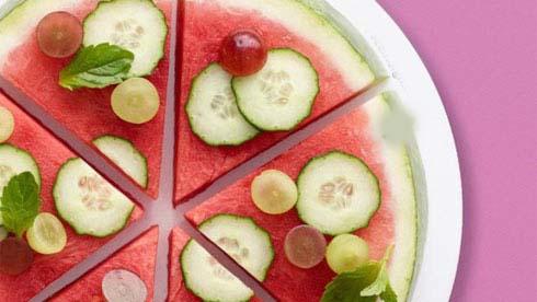 دسر خوشمزه مخصوص شب یلدا پیتزا هندوانه ای