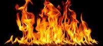 به آتش کشیدن این زن و فرزندش توسط همسرش (عکس)