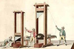 آخرین اعدام شده با گیوتین چه کسی بود (عکس)