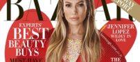 عکس های جذاب از جنیفرلوپز بر روی مجله مد