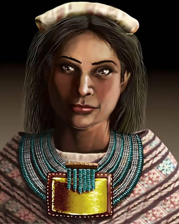 بازسازی صورت این زن ثروتمند 500 ساله (عکس)