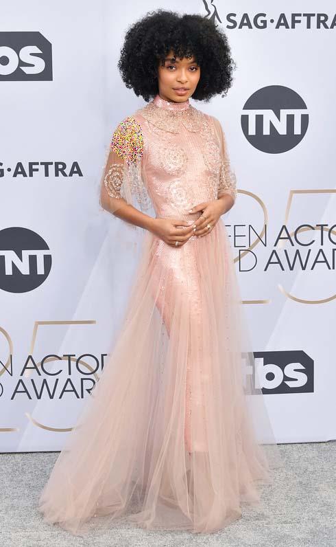 مدل لباس ستارگان هالیوودی در مراسم SAG Awards 2019